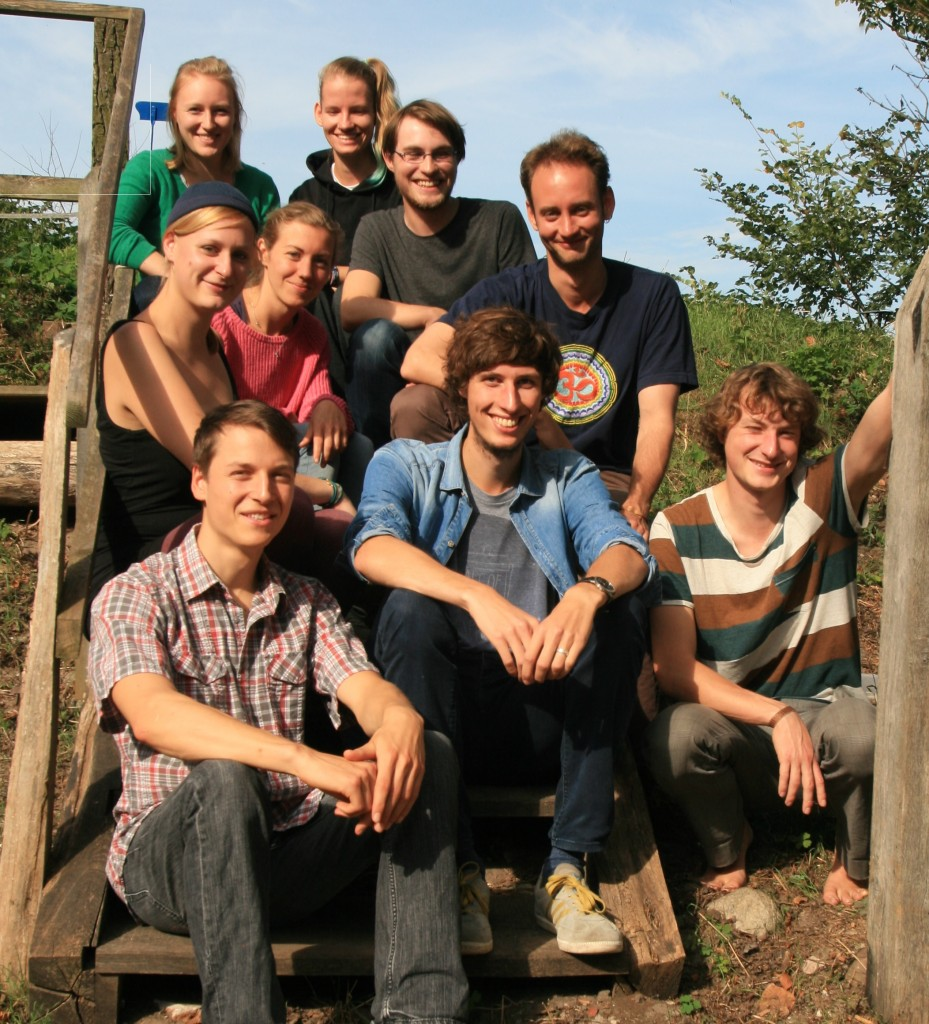 Team of the Green Office Initiative at HU Berlin (Photo by Nachhaltigkeitsbüro Studentische Initiative – HU Berlin)